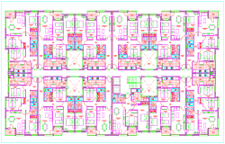 Residence Apartment Layout plan