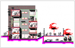 Design of multi family housing