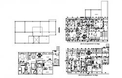 Design of villa 17.76mtr x 8.17mtr with detail dimension in dwg file
