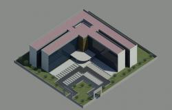 Design project of office building