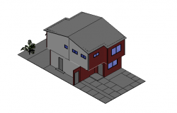 Detached House 3d file details