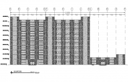 Detail Elevation general hospital layout file
