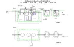 Detail P.T.A.S aqua block auotcad file