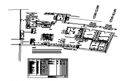 Detail drawing of Kitchen Large Catering design drawing