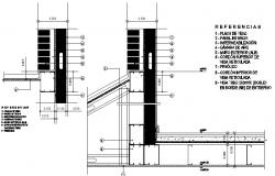 Detail facade dwg file