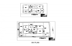 Detail housing structure detail 2d view layout autocad file