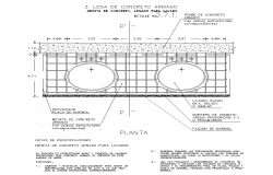 Detail of double lavatories 2d view layout autocad file