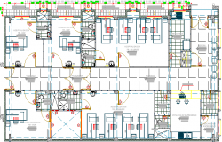 Detailing Structure of Multi-Flooring General Hospital dwg file