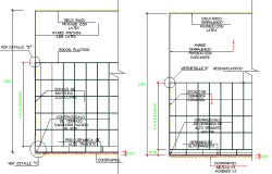 Details of Finishes In The Environment of The Hospital dwg file
