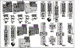 Details of Floor Plan of Office Architecture Layout dwg file