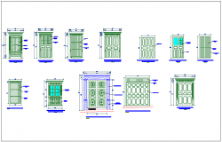 Different types of door design