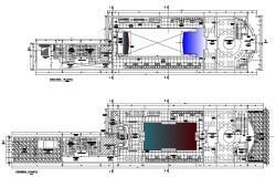 Disco Plan CAD Drawing