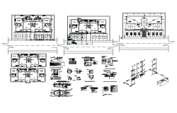 Disco stage drawing and detail in cad files