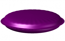 Discovery_Eve_recessed design 3d view dwg file