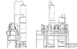Distillery plan detail