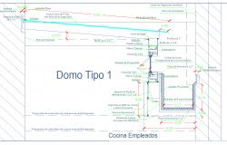 Dome corridor detail autocad dwg files