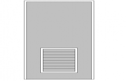 Door Block Detail In DWG file