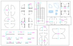Door Detail In Autocad file