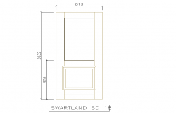 Door Elevation Different type of Block