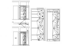 Door Plan and Elevation AutoCAD Drawing