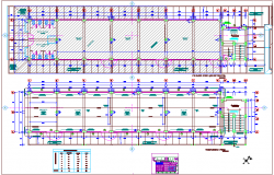 Door & window detail schedule view with plan view of collage dwg file