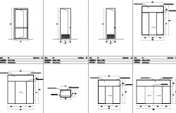 Door and window sectional detail