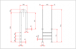 Door elevation scale dwg file