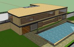 Double Storeyed Farm House with a Swimming Pool