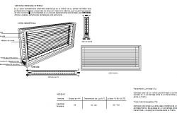 Double glazed window installation details dwg file