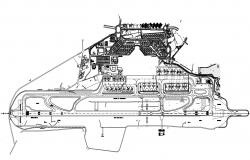 Download Airport Layout Design CAD File