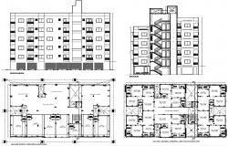 Download Apartment Flat CAD file