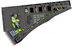 Download Area Planning CAD Drawing