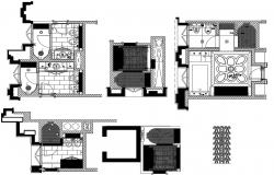 Download Bathroom Plan CAD File