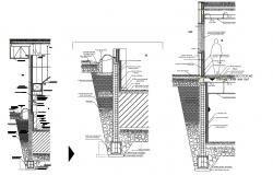 Download Building section AutoCAD architecture drawing