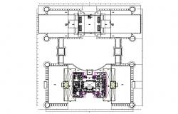 Download Commerce Building CAD File