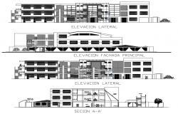Download Educational Building Design CAD File