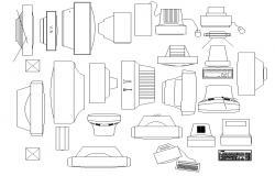Download Electric CAD blocks