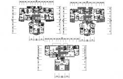 Download House Layout Plan AutoCAD File