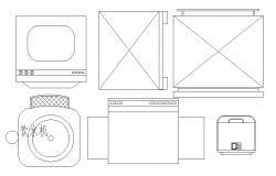 Download Kitchen Furniture CAD file