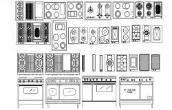 Download Kitchen Layout CAD Blocks