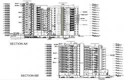 Download Multi Storey House CAD File