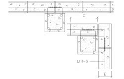 Download Reinforced Structure CAD Drawing