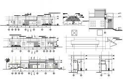 Download Shop Elevation CAD Drawing