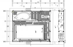 Download The Basic Design Of Club And Stadium AutoCAD File Free