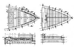 Download The Design Of Roof Truss CAD File