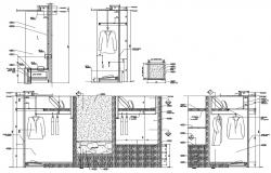 Download Wardrobe Furniture Design CAD file