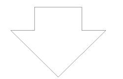 Downward symbol detailing dwg file