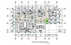 Draft provincial municipality of graves office layout plan cad drawing details dwg file