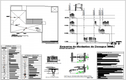 Drain Upright Schematic view with ceiling plan of housing with sanitary installation view dwg file