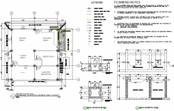 Drainage, water & sewer line layout file